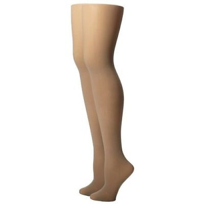 New Ralph Lauren Solid Ivory Cream Stone Tights Control Top Ladies Size A