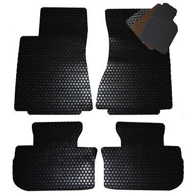 2008-2015 Land Rover LR2 ALL WEATHER Floor Mats - Black Tan Grey Brown