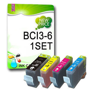 4 YEYE Brand Ink for Canon PIXMA ip3000,Canon I Series i560, BCI-6