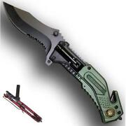Spring Assisted Army Knife
