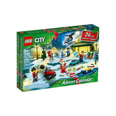 Lego City 2020 Advent Calendar (60268) - NEW IN BOX FREE SHIPPING IN HAND