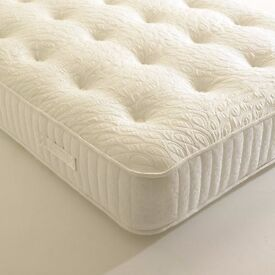 Double Bed (Mattress and Bed Frame)