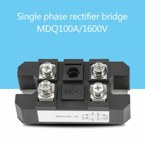 60A/100A/150A/200A/300A/400A Amp Single Phase Diode Bridge Rectifier 1600V wtt