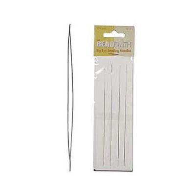 BNIP 4 x Beadsmith BIG EYE Beading Needles - 5 Inches Long