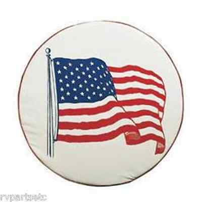 ADCO Designer Flag Tire Cover for RV / Camper / Trailer / Motorhome (Size A) Designer Tire Cover Flag