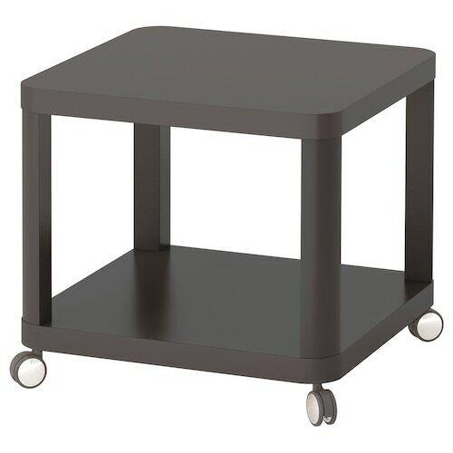 IKEA Beistelltisch mit Rollen Couchtisch Fernsehtisch Nachtisch Tisch 50x50cm