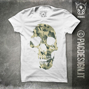 T-SHIRT-TATTOO-OLD-SCHOOL-SKULL-ROCK-CAMO-WHY-SO-HAPPINESS