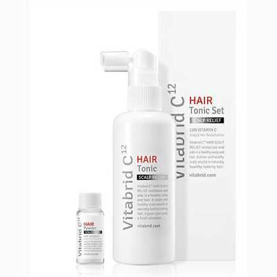 NEW Vitabrid C12 Hair Tonic Solution Set(Scalip Relief)(Standard Shipping )