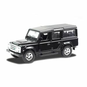 RMZ City Diecast Model - Land Rover Defender Black Car - 5