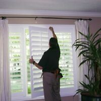 Wanted: Custom Window Treatment Installer