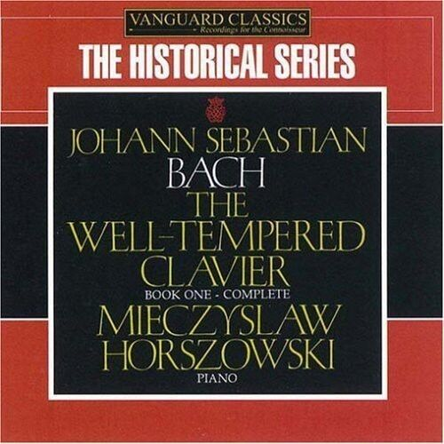 Mieczyslaw Horszowsk - Well Tempered Clavier [New CD]
