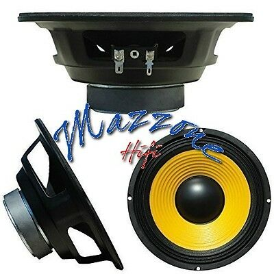 WEB W-068 SINGOLO ALTOPARLANTE MEDIO BASSO WOOFER 165mm 8ohm 80W
