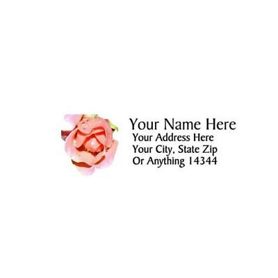 Rose Design Personalized Address Labels 50pcs-free Us Shipping