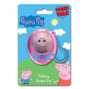 Peppa Pig Pocket Pal Talking Peppa Toy