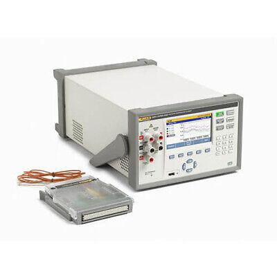 Fluke Calibration 1586a1hc 120 Super-daq Precision Temp Scanner
