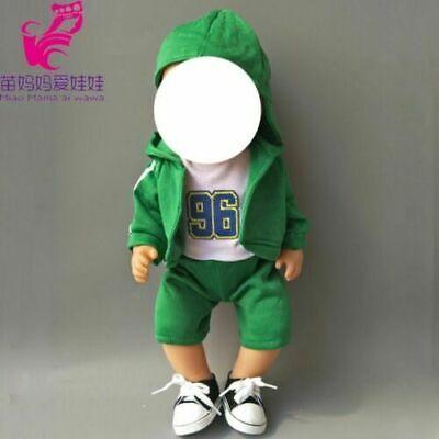 Outwear Hose Hemd Hut für für Baby Puppen - Outfit Für Mädchen