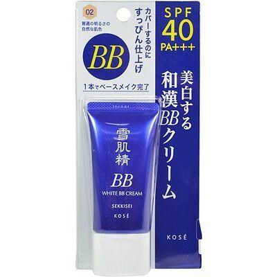 Kose SEKKISEI White BB Cream 30g - Color 02