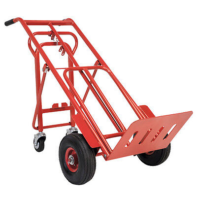 SEALEY CST989 Sack Truck 3-In-1 With Pneumatic Tyres (250kg Capacity)