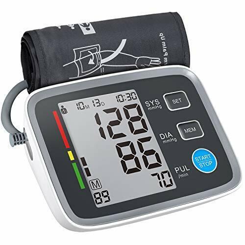 blood pressure monitor cuff upper arm automatic
