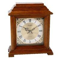 Wm Widdop Walnut Bracket Clock With Roman Dial - unbranded/generic - ebay.co.uk