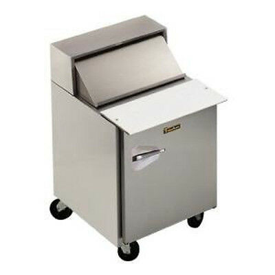 Traulsen Upt276-r-sb Stainless Steel 27 Prep Table Refrigerator- Hinged Right