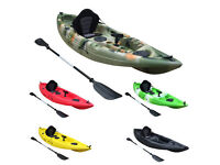 New Bluefin SWift 10' Single Fishing Kayaks only £320.00