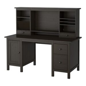 "IKEA ""HEMNES"" Desk & Shelf Unit"