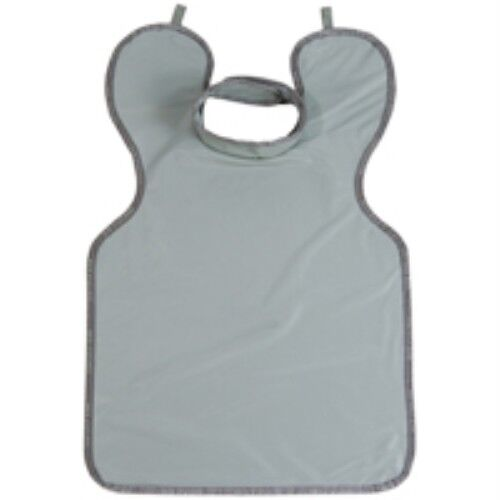 "LEAD ADULT APRON 0.3MM WITH COLLAR GREY PROTECTALL 24"" x 36"