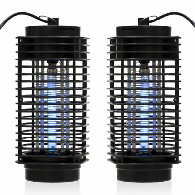 2Pcs Electric Mosquito Fly Bug Insect Zapper Killer Trap Lamp 110V Stinger Pest