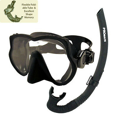 1ddebe6b79 Promate Raven Freediving Spearfishing Scuba Dive Mask Snorkel Gear Set
