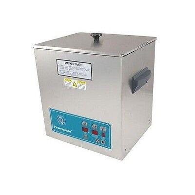 Crest Powersonic Ultrasonic Cleaner 3.25 Gallon Digital Timer Heat Pc Basket