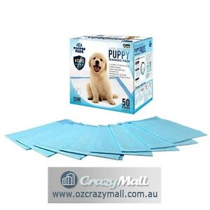 50pcs Dog Training Pads 60x60cm Super Absorbent Blue/Pink Melbourne CBD Melbourne City Preview