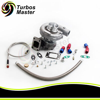 T3T4 T04E TURBO CHARGER  FEED RETURN LINE for CIVIC 01 05 EM2 ES1 EP3 D17 K20
