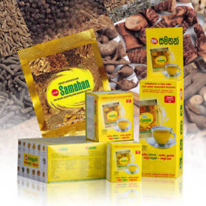 25 Link Samahan Ayurvedic Herbal Tea Packets Sri Lankan Natural Drink Free Ship