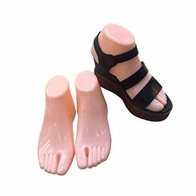 Female Plastic Foot Model Tools For Sandals Display Fleshtone