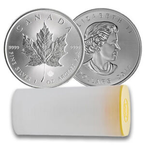 2016 Silver Maple Leaf Coins. Royal Canadian Mint Silver Coins Cornwall Ontario image 2
