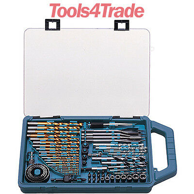 Makita P-44024 75 Piece Set Drill Bits, Flat Bits, Holesaws, Countersinks