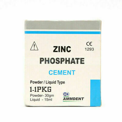 Ammdent Permanent Tooth Filling Dental Cement Kit Zinc Phosphate Cement Dent