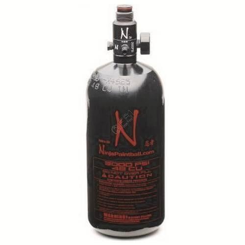 Ninja Aluminum Tank / HPA Bottle/Tank  - 3000psi 48ci  -(V2 reg)  NEW