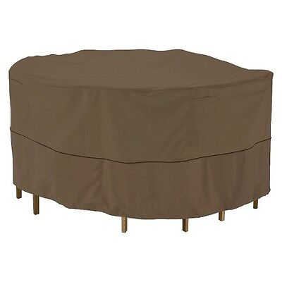 Threshold? Round Patio Table & Chair Set Cover