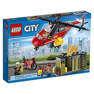 LEGO City Fire Response Unit 60108 NEW SEALED BOX FIRM