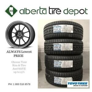 10% SALE LOWEST Price Toyo Tires All Weather 235/40R18 Toyo Celsius Tires Wheels Shipping Available Shop With Confidence