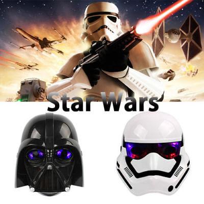 Stormtrooper Darth Vader Star Wars Maske Light Up Kindermasken Kostümparty