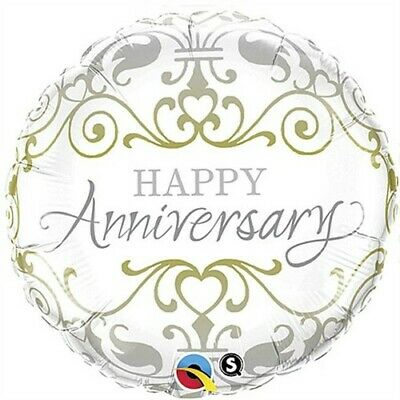 Happy Anniversary Classic Foil Balloon Anniversary Gift Party Supplies Decor - Anniversary Supplies