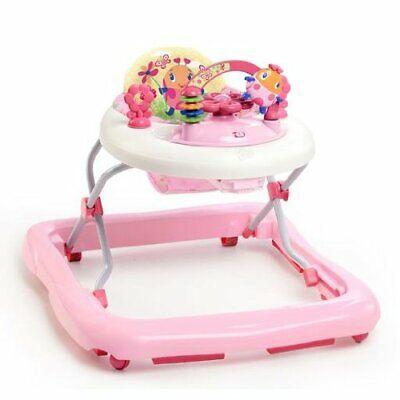 Bright Starts 60287 Walk-A-Bout Walker Pretty In Pink