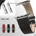 Genuine Leather Band Bund Strap Watch Bands