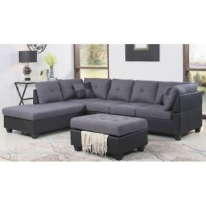 PROMO! Sofa sectionnel design original à prix accessible