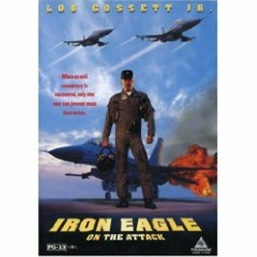 Iron Eagle 4 (Lou Gossett Jr) On the Attack New DVD Reg 1