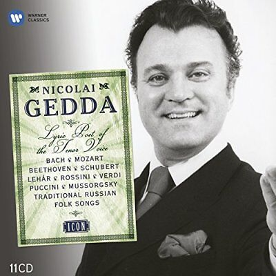 Nicolai Gedda - ICON - Nicolai Gedda 85th Birthday [CD]