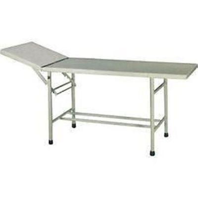 White Examination Table Medical Instrument